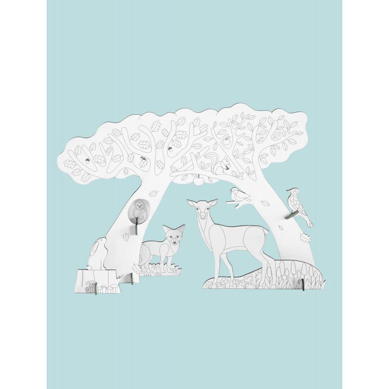 puzzle-3d-a-colorier-foret-studioroof-petit-d-homme-a-valenciennes