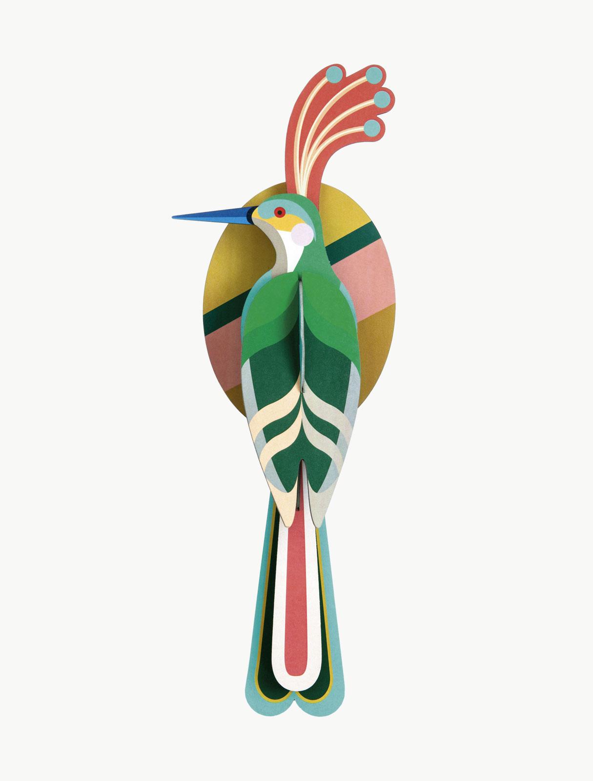 Décoration murale oiseau, nias