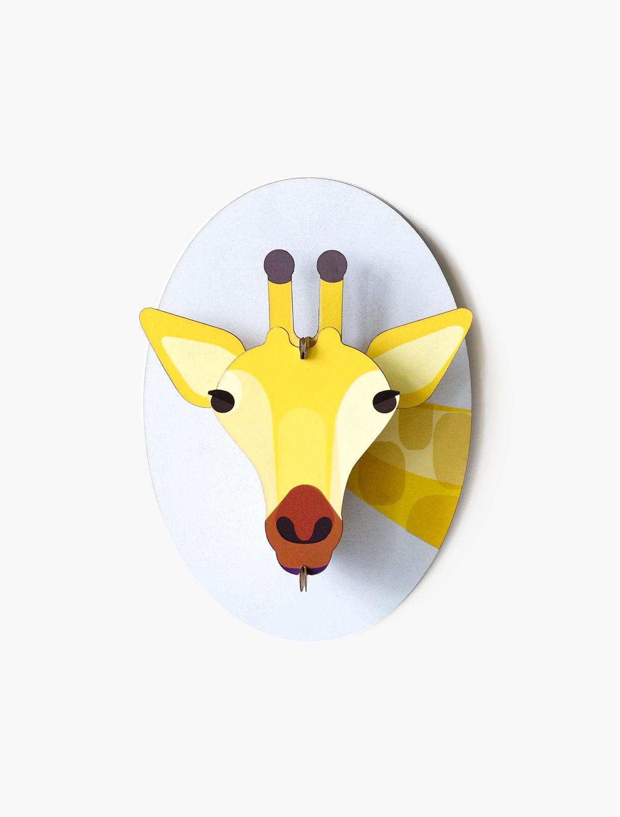 Décoration murale girafe