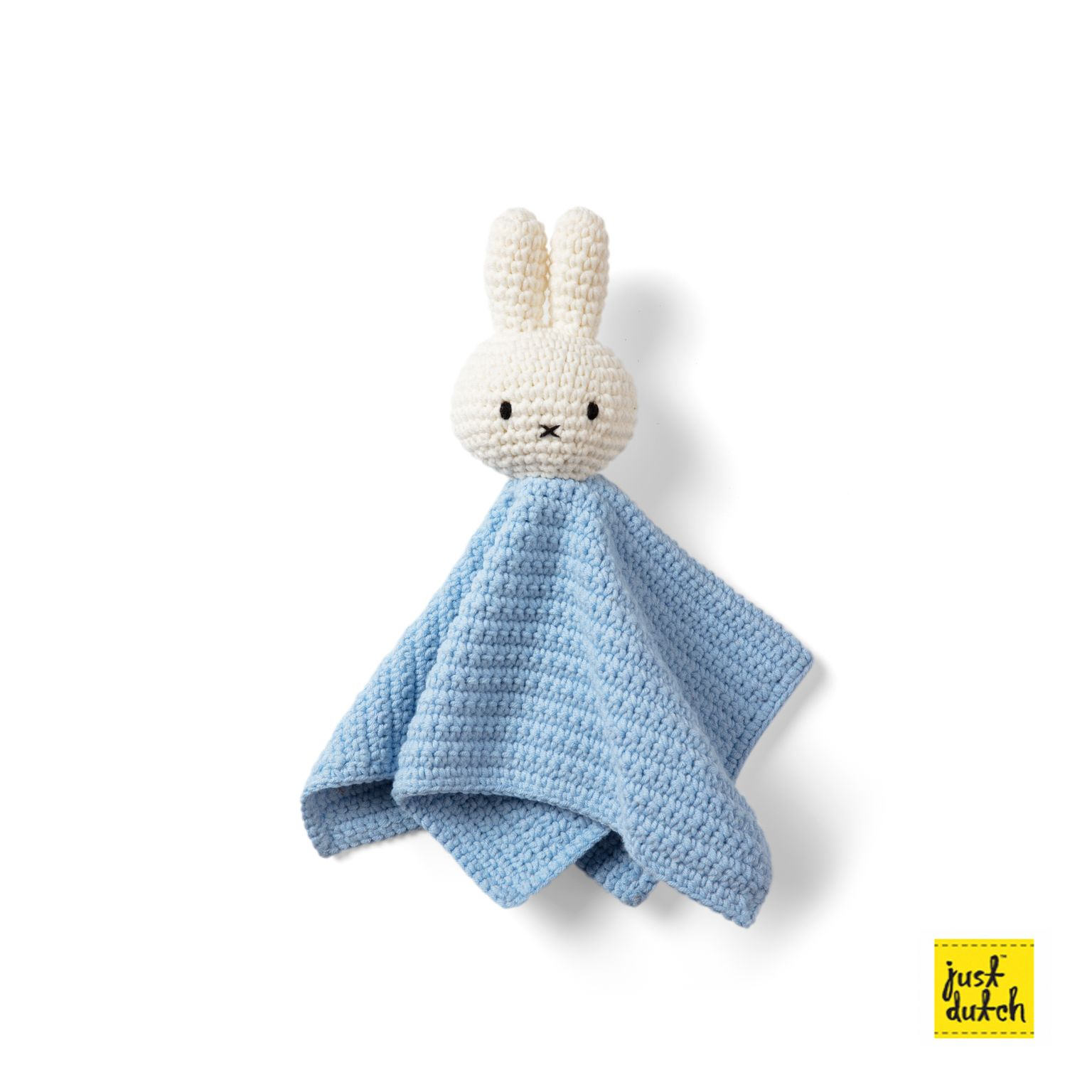 Doudou plat au crochet Miffy