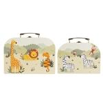 GIF097_C_Savannah Safari Suitcases_Set of 2_Front