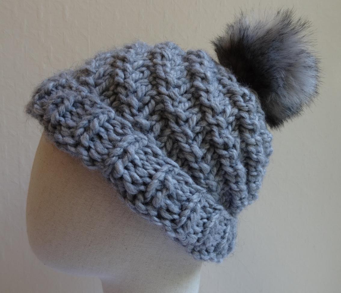 tricoter un bonnet aiguille n° 8