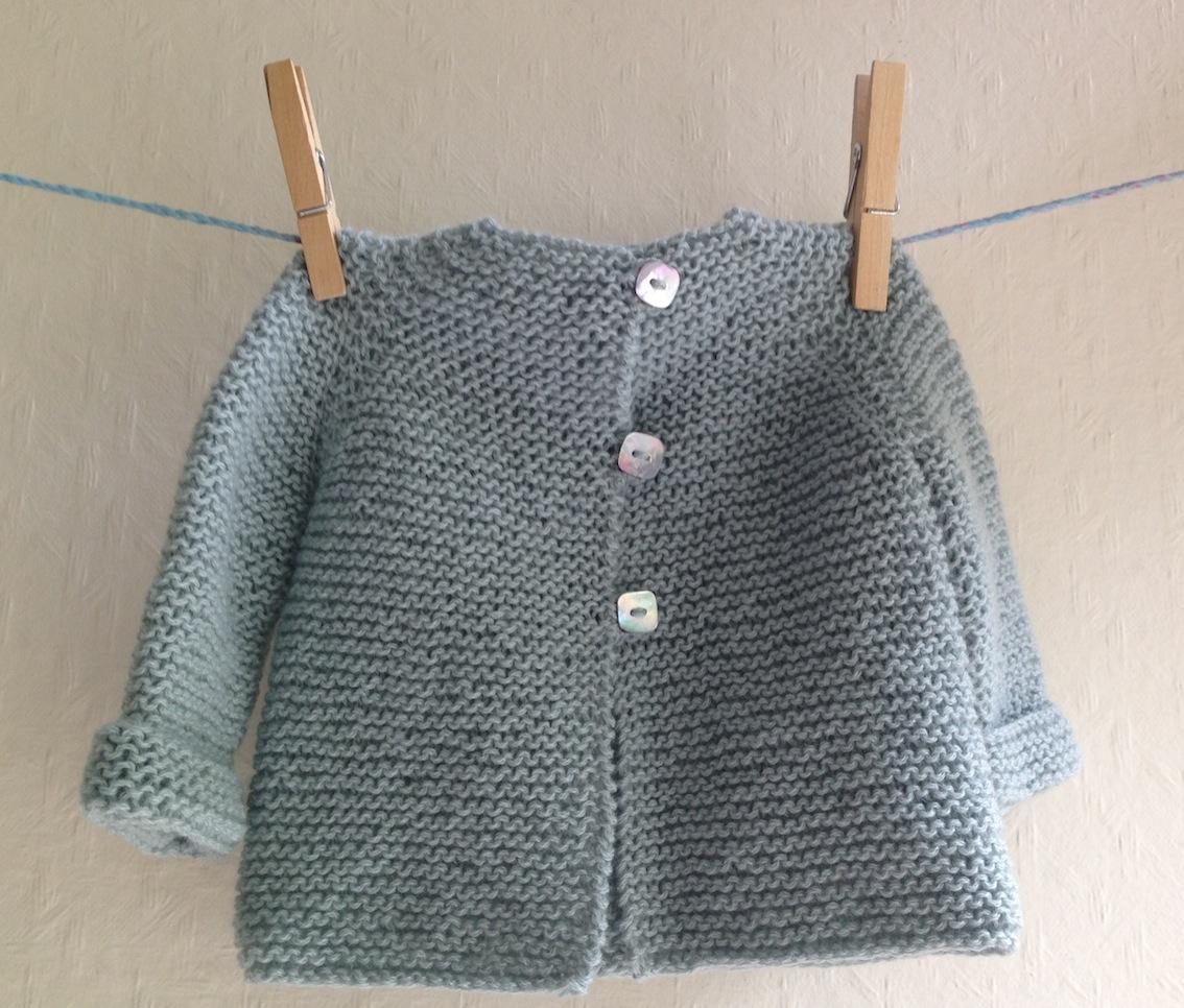 kit tricot point mousse