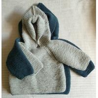 Kit 27: modèle Marcel: brassière à capuche ouverte dans le dos
