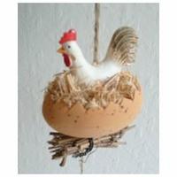 Guirlande poules et œufs