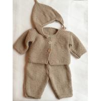 Kit  12: ensemble pantalon, gilet et bonnet pour bébé, modèles de décembre