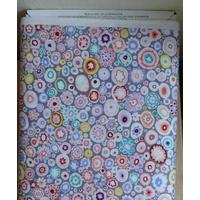 Tissu coton Rowan multicore 20cm