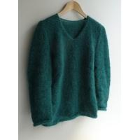 Kit pull femme mohair et laine aiguilles n° 6