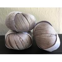 7 pelotes pur coton 354 d'Egypte Sublime