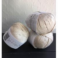 9 pelotes coton d'Egype de Sublime 322 aig n°4