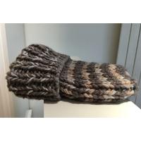 Bonnet cachemire et laine gros fil