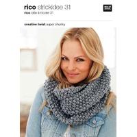 Catalogue de modèles en laine Twist