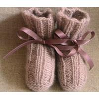 Kit 9: chaussons de bébé en cachemire