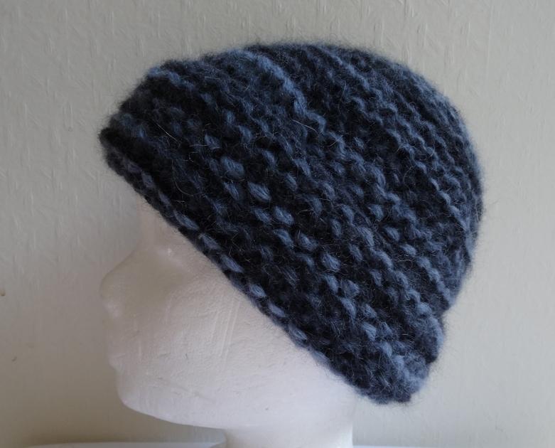 kit bonnet grosse laine point mousse kit tricoter cachemire etc. Black Bedroom Furniture Sets. Home Design Ideas