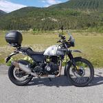 moto Royal enfield himalayan 410 sleet vue de face