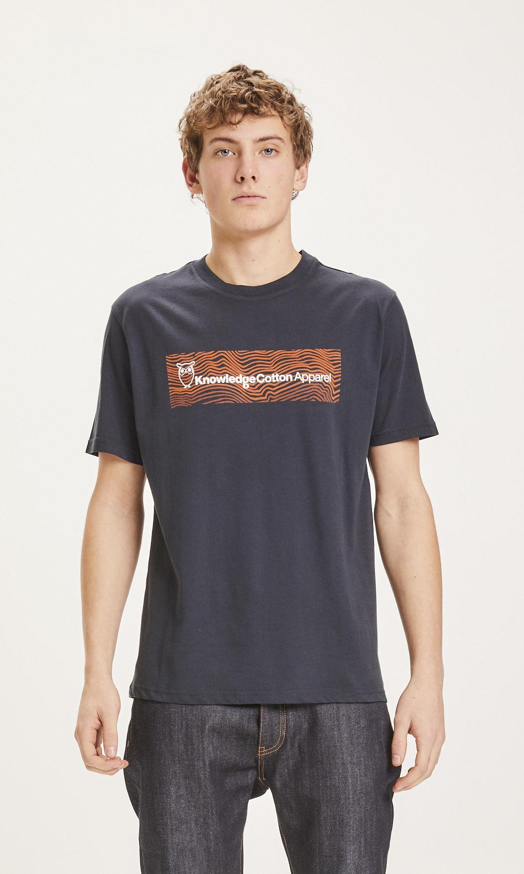 T-shirt marque KCA - Knowledge Cotton Apparel