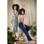Alexa-blouse-leaves-print-&-Gaia-pants-navy