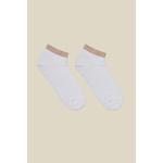 LANIUS_SS21_12872-00_Sneaker-Socke_white-rosemelange_02