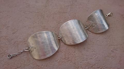 Bracelet cuillères recyclées
