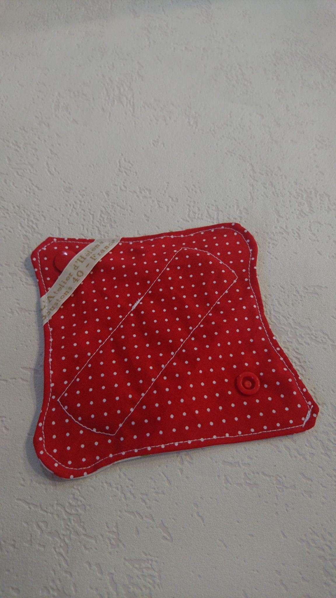 Mini protège-slip coton lavable et réutilisable