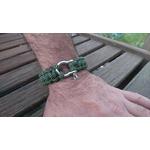 bracelet homme inox kaki noir (2)
