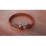 bracelet manille cuivre