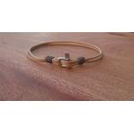 bracelet manille mini beige (2)