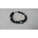 bracelet homme pierre lave basalte noir et inox ours (2)