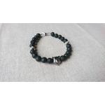 bracelet homme pierre lave basalte noir et inox ours (3)