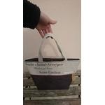 lunchbag sac repas vignoble lin marron beige (4)