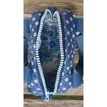 lunchbag sac repas fleurs bleu (3)