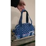 lunchbag sac repas fleurs bleu (4)