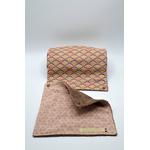 rouleau essuie tout lavable eventails rose coton (2)