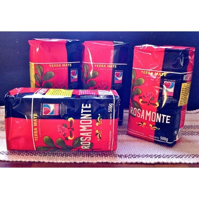Pack 4 paquets Yerba mate ROSAMONTE 500g
