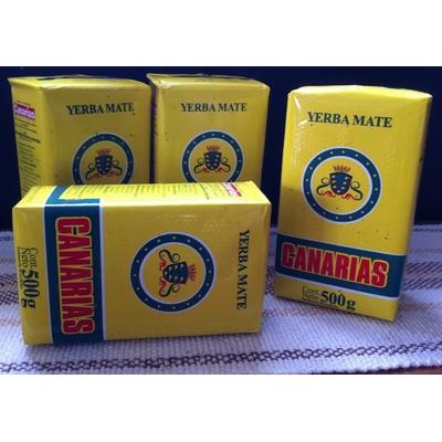 CANARIAS de 500g Pack 4 paquets de yerba mate