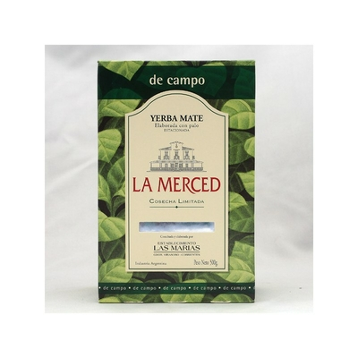 Yerba Mate La Merced de Campo Cosecha Limitada 500g
