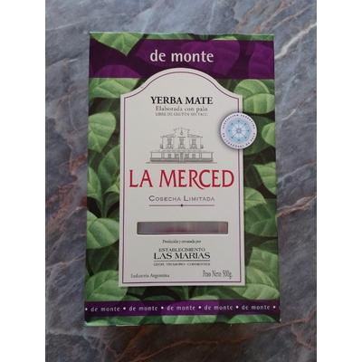 Yerba Mate La Merced de Monte Cosecha Limitada 500g
