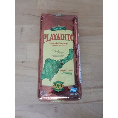 Yerba mate despalada PLAYADITO 500g