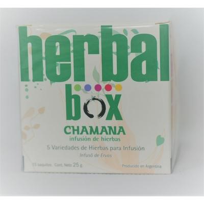 Tisane Chamana Herbal Box 5 saveurs
