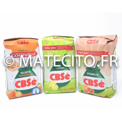 Pack 3 paquets yerba mate CBSé