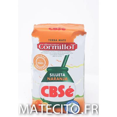 Yerba mate CBSe Silueta Orange Cormillot 500g