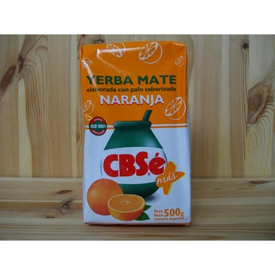 Yerba Mate CBSé Orange 500g (Naranja)