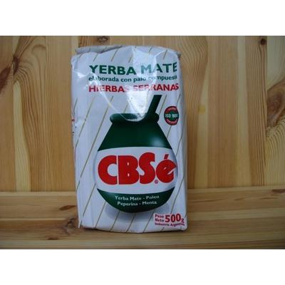 Yerba Mate CBSé Hierbas Serranas 500g