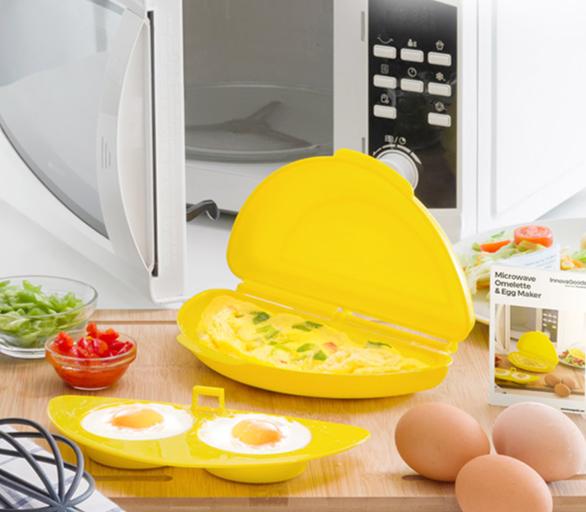 Cuiseur d\'Omelette pour Micro-Ondes