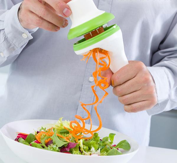 Coupe Légumes en Spirale 3 en 1