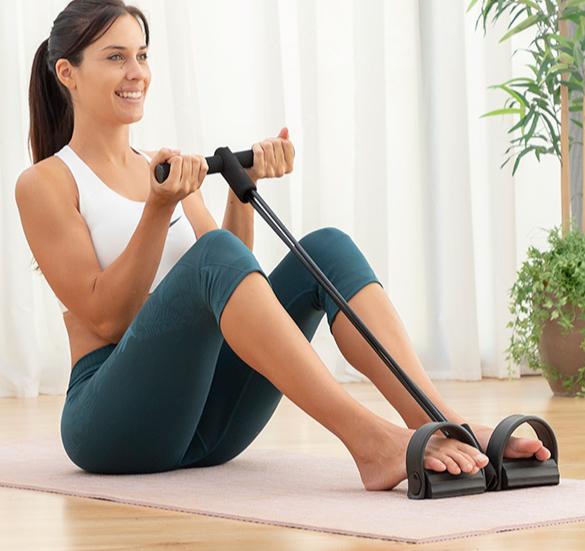 Élastiques de musculation multi-usages avec guide d'exercices
