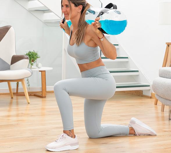 Sac à Eau de Fitness avec Guide d'Exercices