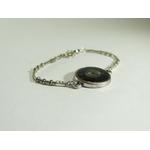 bracelet dentelle et engrenage, belladone bijoux