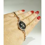 bracelet dentelle engrenage belladone bijoux