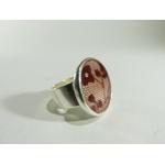 bague ronde dentelle, belladone bijoux